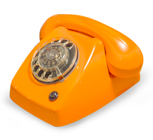 Domus Locus oude telefoon